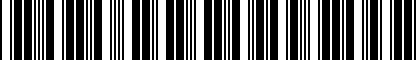 Barcode for DRG002972
